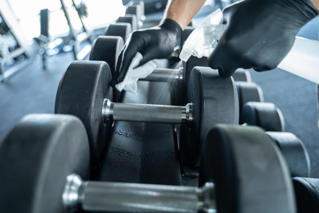 Gym & Leisure facility cleaning